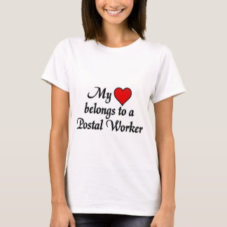 T-shirt J'aime mon travailleur postal