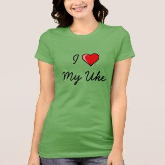 T-shirt J'aime mon Uke