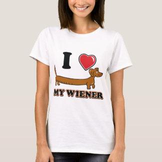 T-shirt J'aime mon Weiner