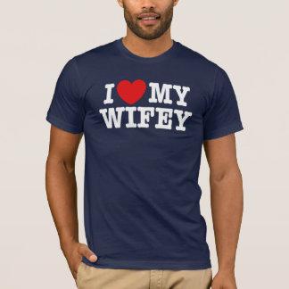 T-shirt J'aime mon Wifey