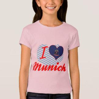 T-shirt J'aime Munich, le Dakota du Nord