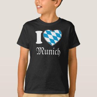 T-shirt J'aime Munich - Oktoberfest-Chemise pour des