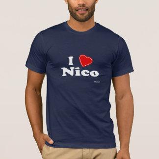 T-shirt J'aime Nico