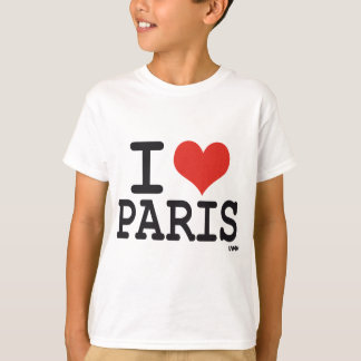 T-shirt J'aime Paris