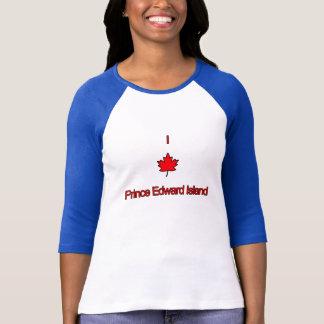 T-shirt J'aime PEI île Prince Edouard