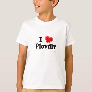 T-shirt J'aime Plovdiv