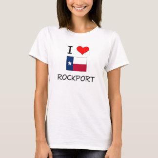 T-shirt J'aime Rockport le Texas