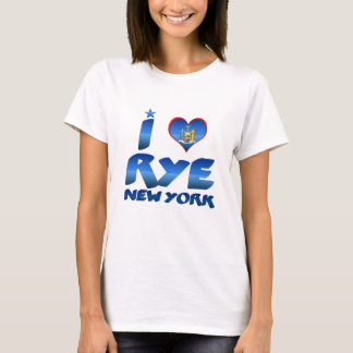 T-shirt J'aime Rye, New York