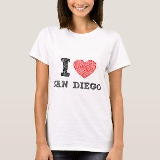 T-shirt J'aime San Diego