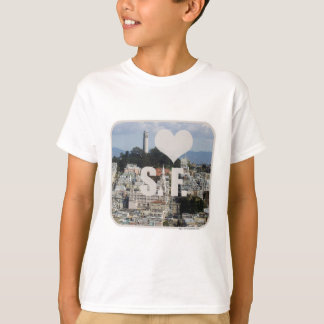 T-shirt J'aime San Francisco