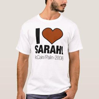 T-SHIRT J'AIME SARAH PALIN !