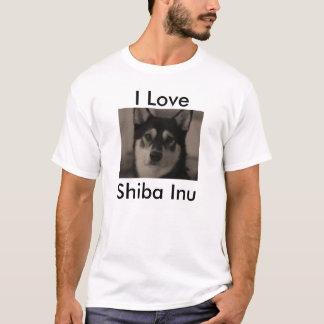 T-shirt J'aime Shiba Inu