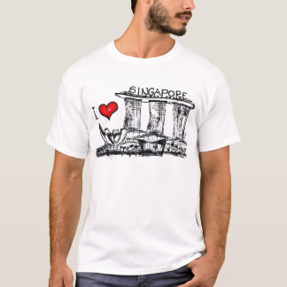 T-shirt J'aime Singapour