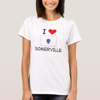 T-shirt J'aime Somerville le Massachusetts