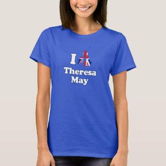 T-shirt J'aime Theresa peux - GBR --