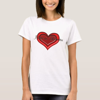 T-shirt J'aime un dessus d'aviateur