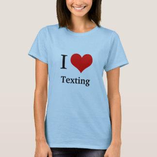 T-shirt J'aime…  VOUS DACTYLOGRAPHIEZ LE REPOS