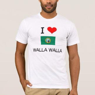 T-shirt J'aime Walla Walla Washington