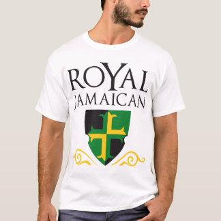 T-shirt Jamaïcain royal