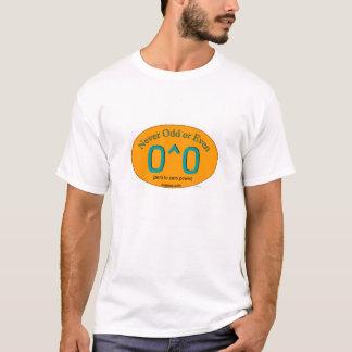 T-shirt Jamais impair ou même
