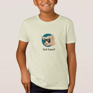 T-Shirt Jambon obtenu ?
