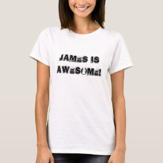 T-shirt James est impressionnant !
