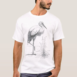 T-shirt James Johonnot - cigogne