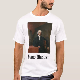 T-shirt james_madison_by_gilbert_stuart, James Madison,…