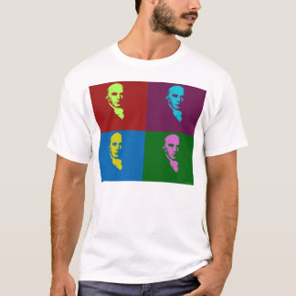 T-shirt James Madison PopArt