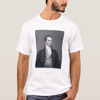 T-shirt James Monroe, gravé par le calcinateur Brown