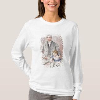 T-shirt James Wyatt avec son Grandaughter Mary, le Chi le