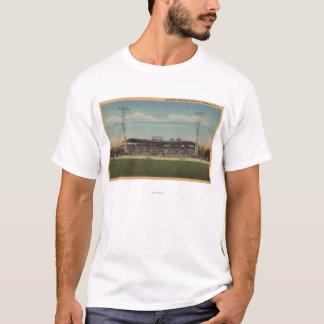 T-shirt Jamestown, NY - stade de base-ball municipal