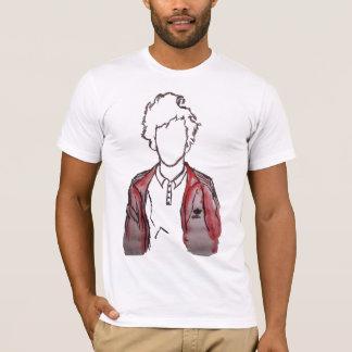 T-shirt Jamie Silouhette peint par T