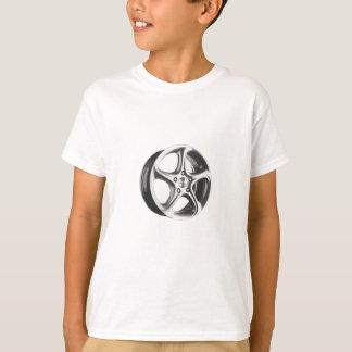T-shirt Jante décorative de voiture