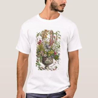T-shirt Janvier, de ` douze mois de fleurs