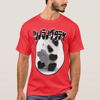 T-shirt Japonais de journal de panda du bébé 3d