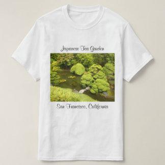 T-shirt japonais de l'étang #6 de jardin de thé de