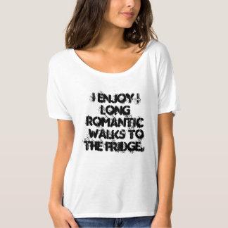 T-shirt J'apprécie ! longues promenades romantiques au