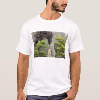 T-shirt Jardin de la famille de Bao, Huangshan, Chine. 2