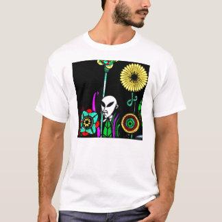 T-shirt Jardin de Spirograph