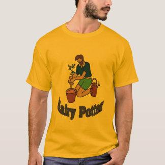 T-shirt Jardinage velu de potier