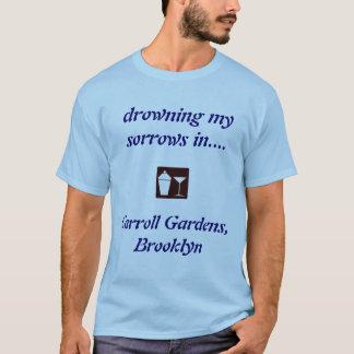 T-shirt Jardins de Carroll, CHEMISE POTABLE de Brooklyn !