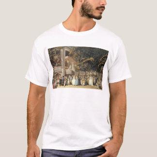 T-shirt Jardins de Vauxhall d'Ackermann