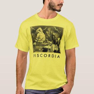 T-shirt jaune de Discordia