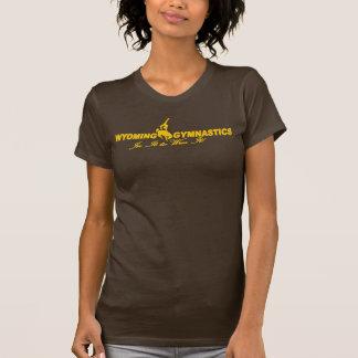 T-shirt Jaune de gymnase du Wyoming