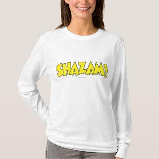 T-shirt Jaune de logo de Shazam