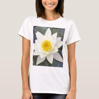 T-shirt jaune de nénuphar