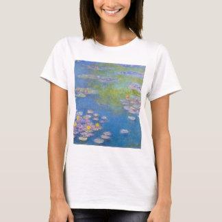 T-shirt jaune de nénuphars de Monet