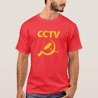 T-shirt Jaune de télévision en circuit fermé