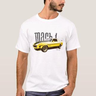 T-shirt JAUNE du mustang MACH1